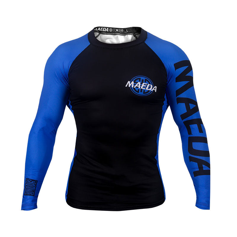 Ranked V2 Rash Guard-Blue