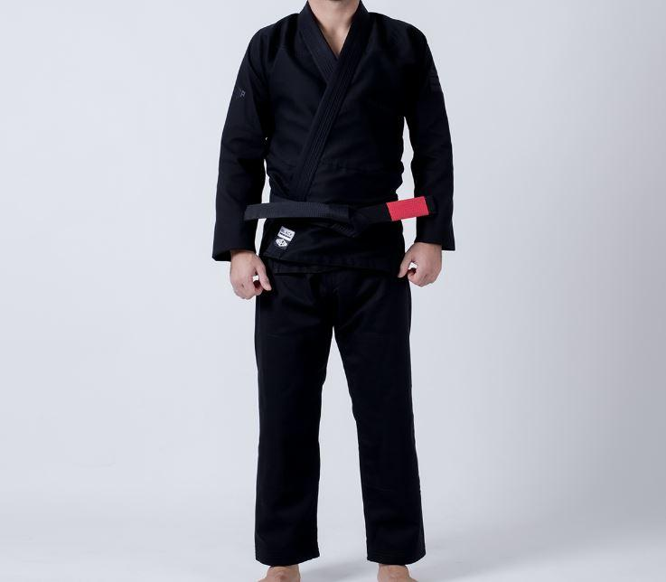 Maeda Black Label Jiu Jitsu Gi  - Women's (Free White Belt) - Black