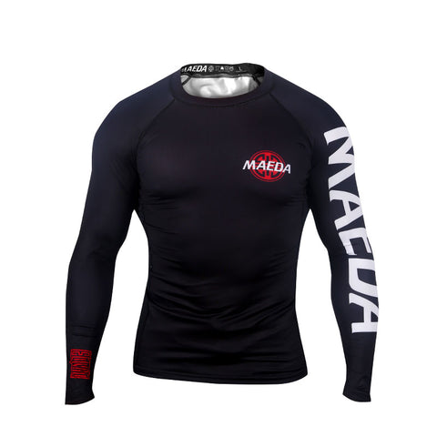 Ranked V2 Rash Guard-Black
