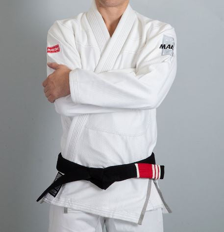 Red Label Jiu Jitsu Gi (Free White Belt) - White