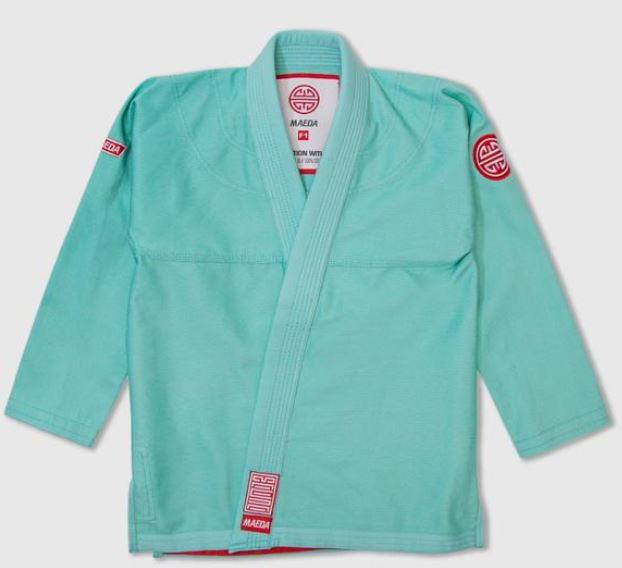 Maeda Red Label 2.0 Kid's Jiu Jitsu Gi ( Free White Belt )-Mint