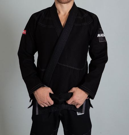 Red Label Jiu Jitsu Gi (Free White Belt) - Black