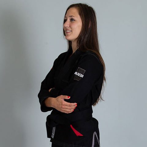 Red Label Women's Gi  (Free White Belt) - Black