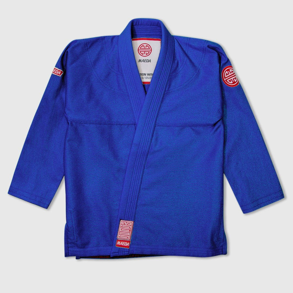 Maeda Red Label 2.0 Women's Jiu Jitsu Gi - Blue ( Free White Belt )