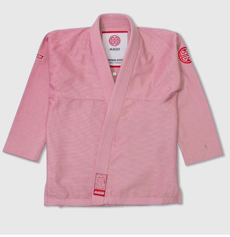Maeda Red Label 2.0 Kid's Jiu Jitsu Gi ( Free White Belt )-Peach