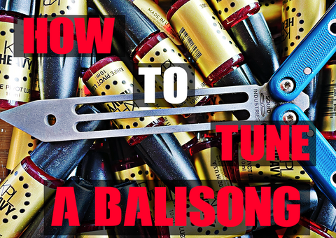 How to tune a balisong knife - knife pivot lube