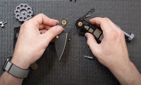 removing blade disassembly of Manix 2