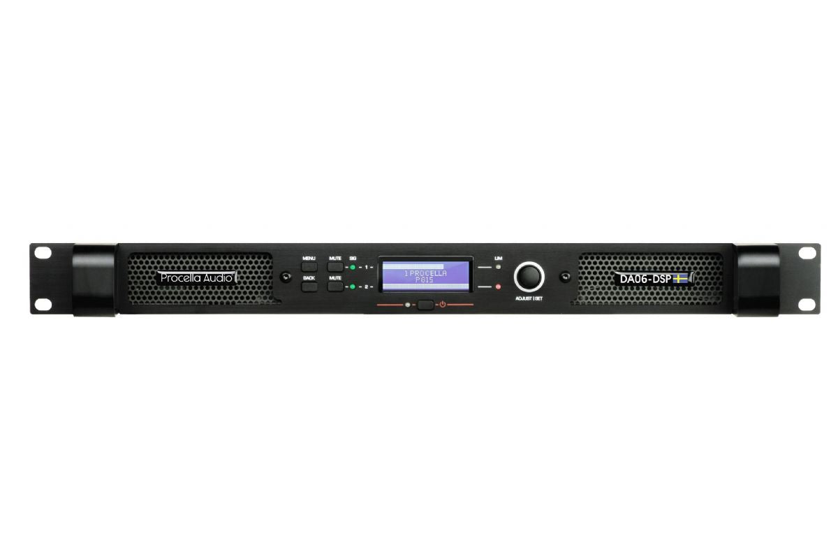 Procella DA06-DSP Amplifier, Piece, Procella Audio, Power Amplifier - Auratech LLC