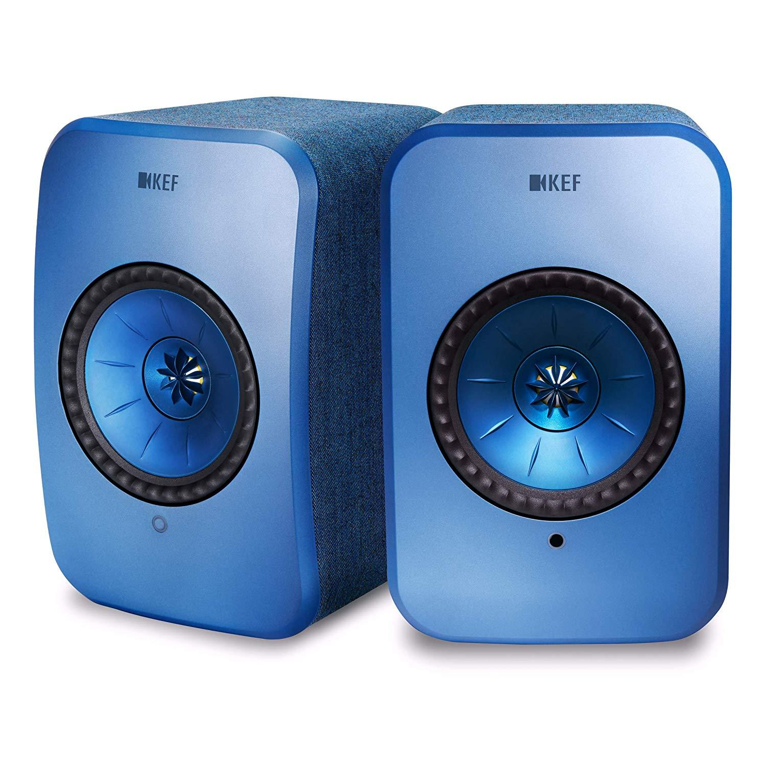 KEF LSX - Wireless Music System - Black, KEF, Active Bookshelf Speakers - Auratech LLC