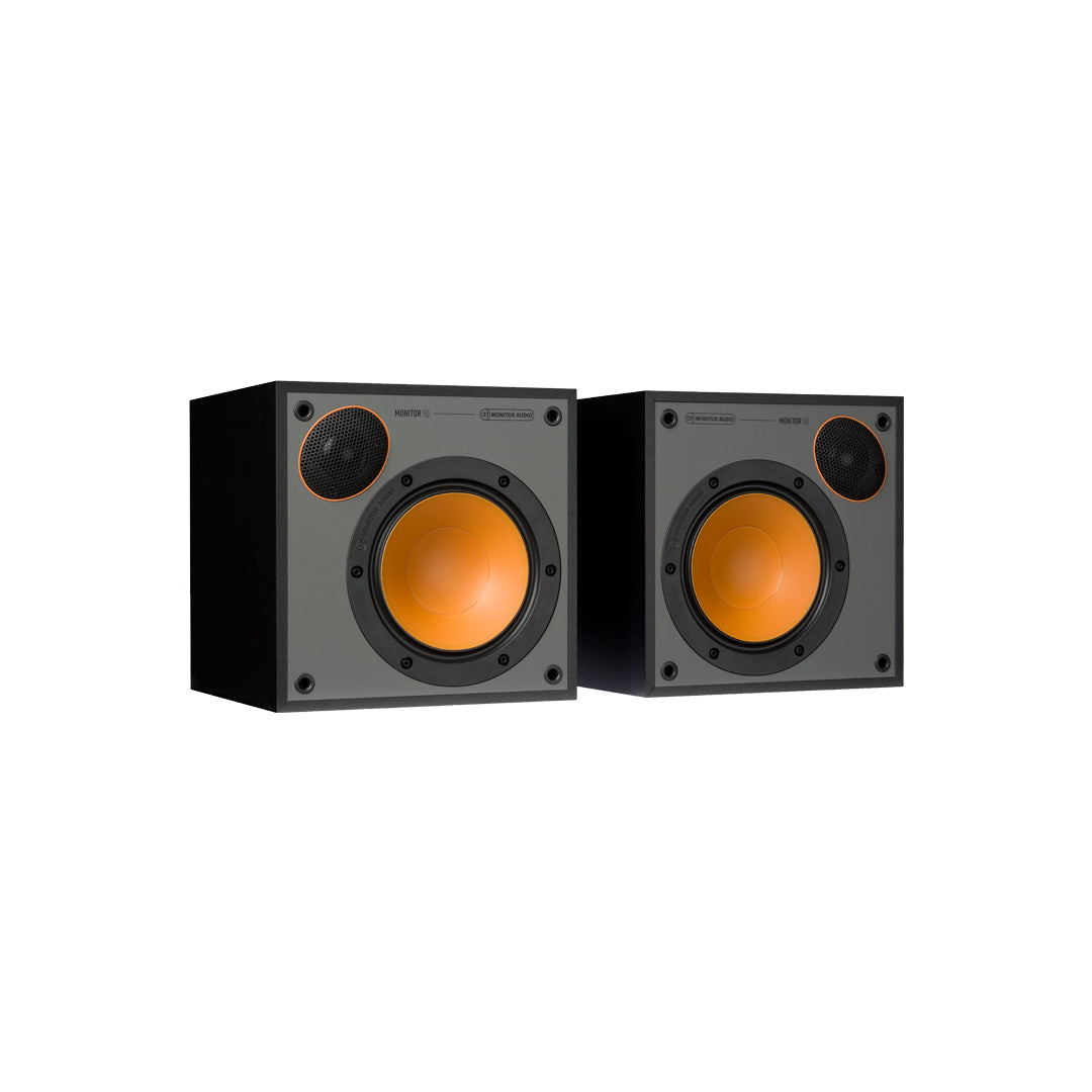 Monitor Audio - Monitor 50 (Pair), Monitor Audio, Bookshelf Speaker - Auratech LLC