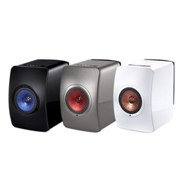 KEF LS50 - Wireless Music System - Black - Auratech LLC