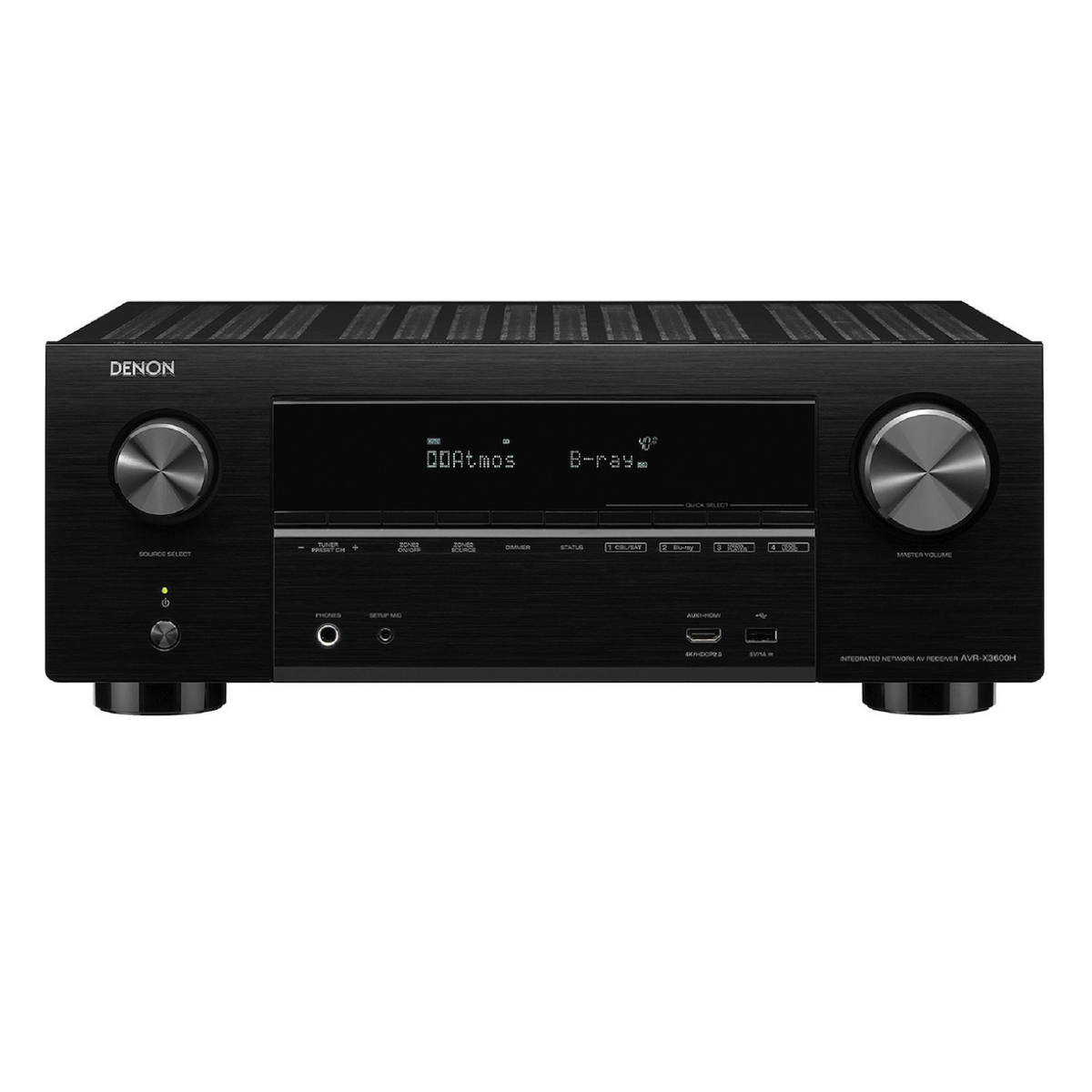 Denon AVR-X3600H - 9.2 Channel AV Receiver - Auratech LLC