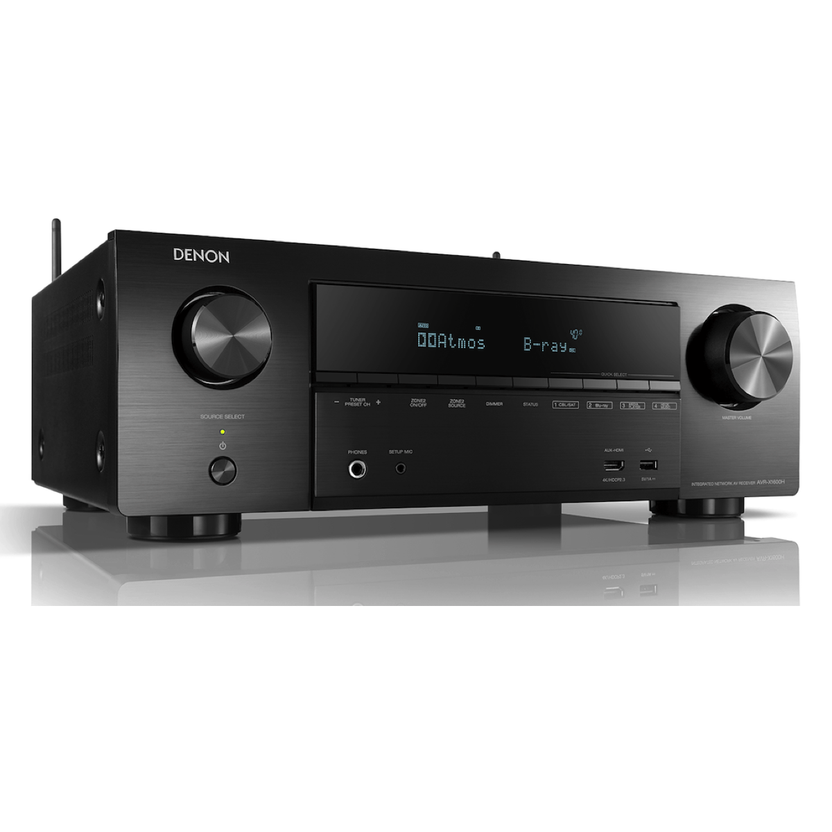 Denon AVR-X1600H - 7.2 Channel AV Receiver - Auratech LLC