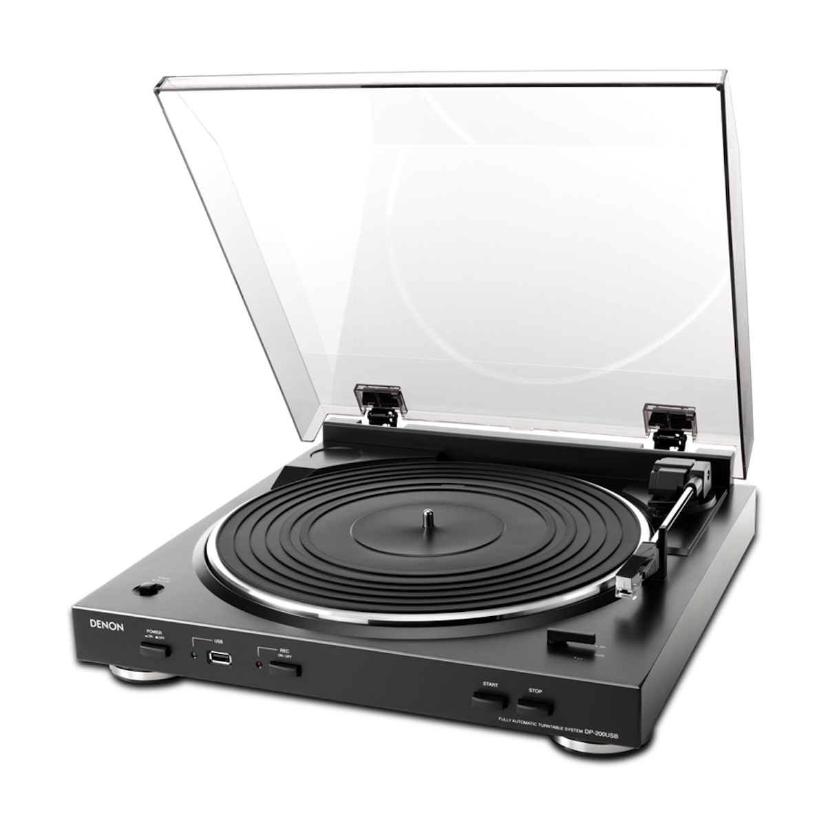 Denon DP-200USB - Turntable, Denon, Turntable - Auratech LLC