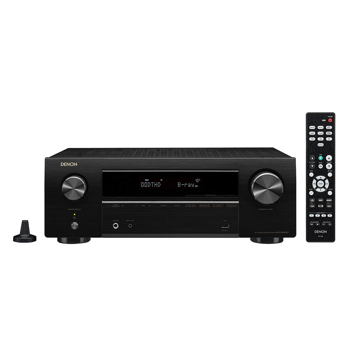 Denon AVR-X550BT - 5.2 Channel AV Receiver - Auratech LLC