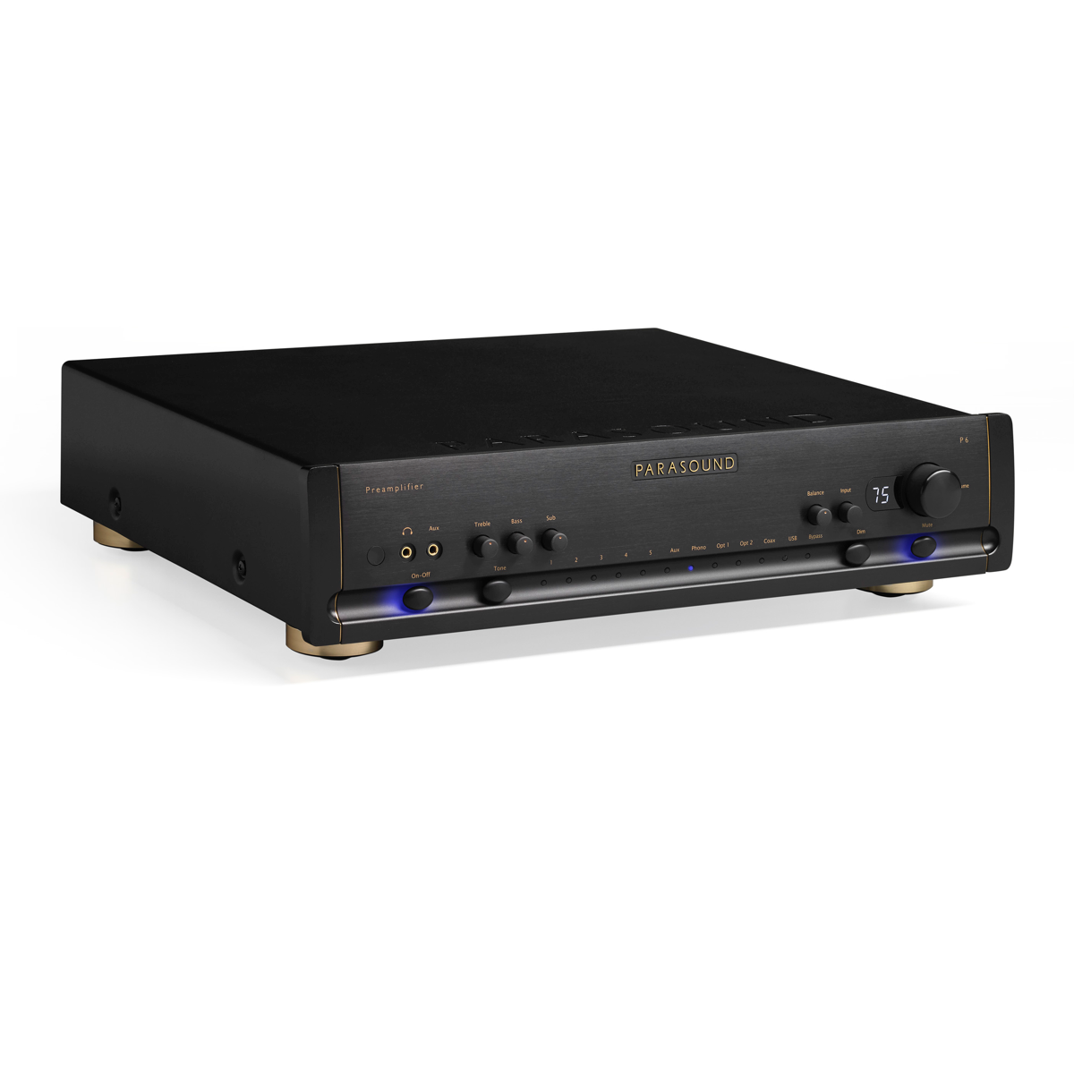 Parasound Halo P6, Parasound, Power Amplifier - Auratech LLC