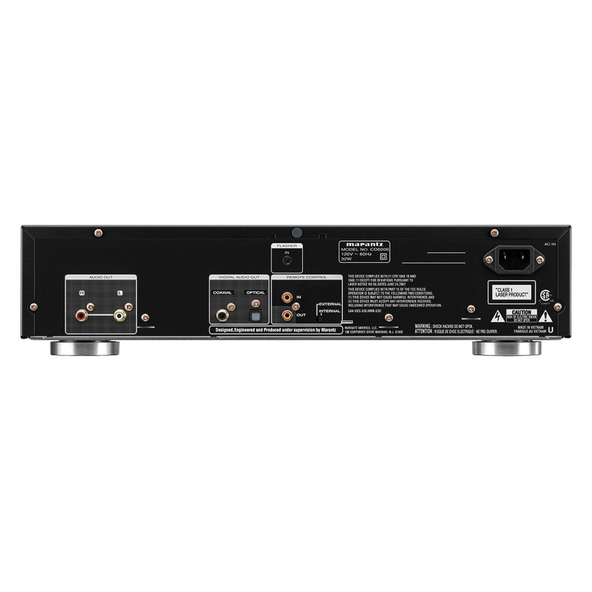 Marantz CD6006 - CD player, Marantz, Digital players & streamers - Auratech LLC