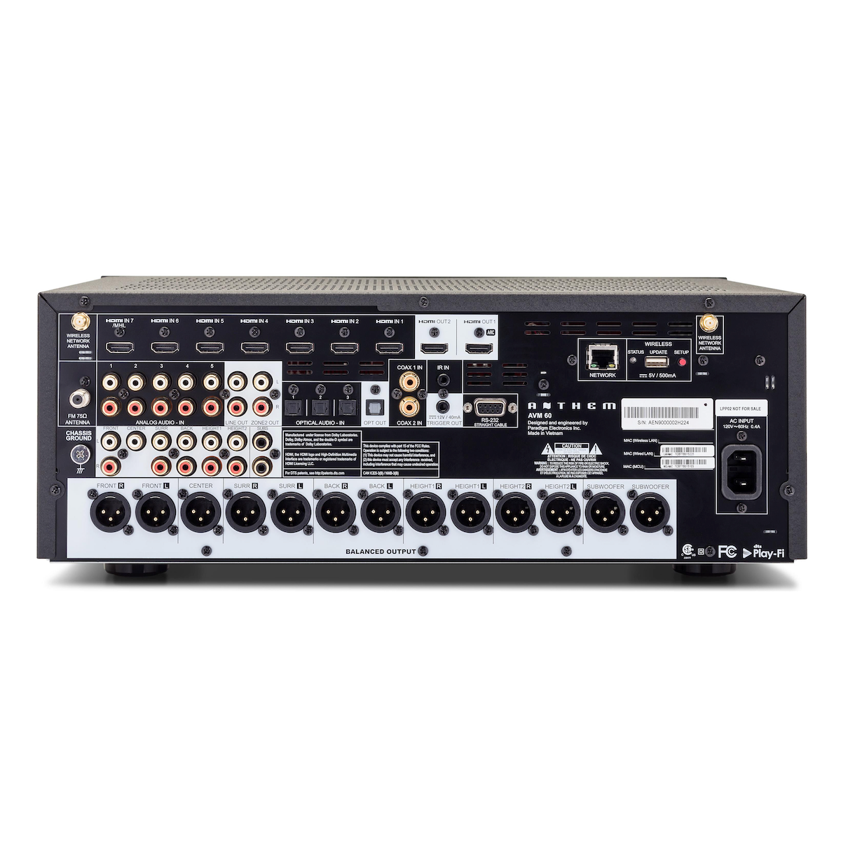 Anthem AV AVM 60 - 11.2 Channel Pre-Amplifier, Anthem AV, AV Processor - Auratech LLC