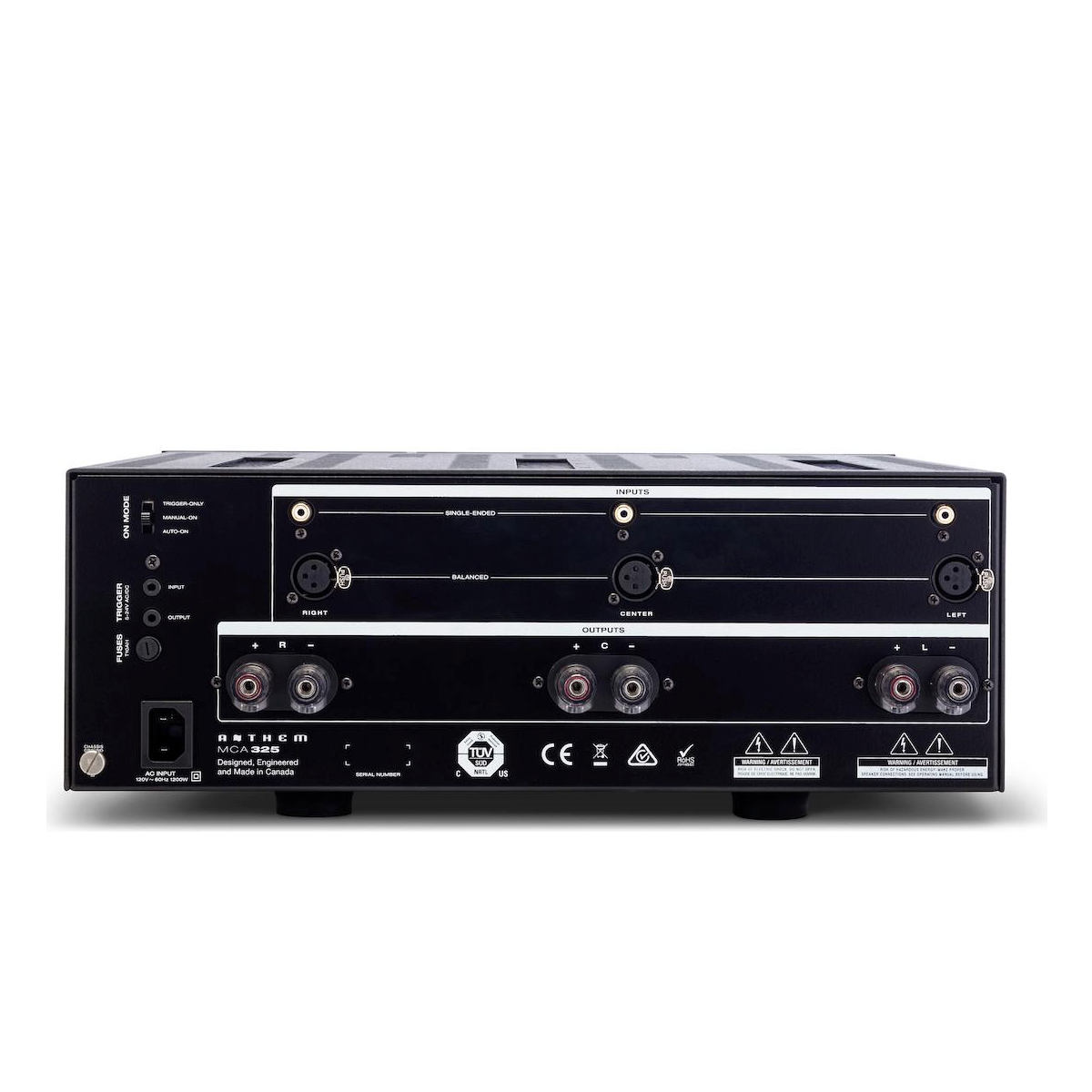 Anthem MCA 325 - 3 Channel Power Amplifier, Anthem AV, Power Amplifier - Auratech LLC