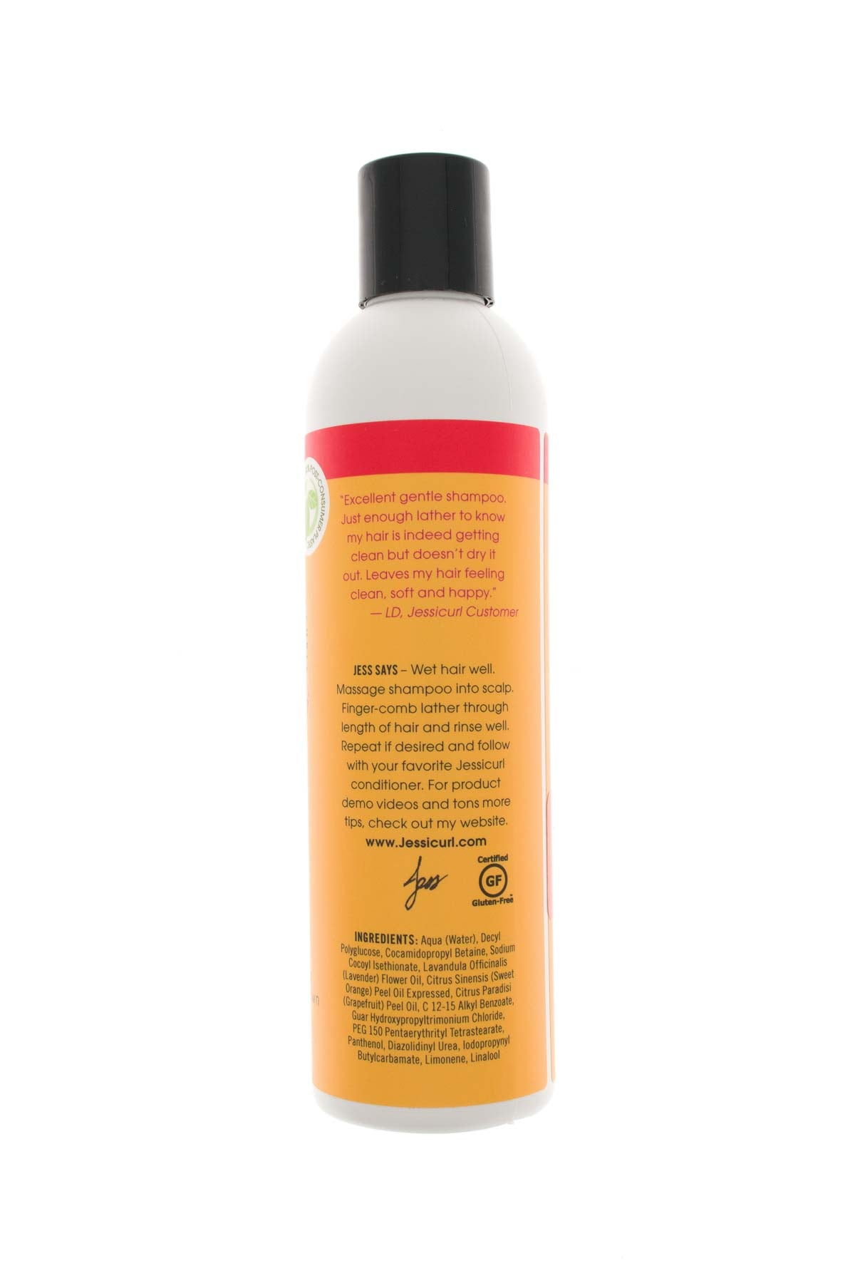 Gentle Lather Curly Hair Shampoo - Jessicurl