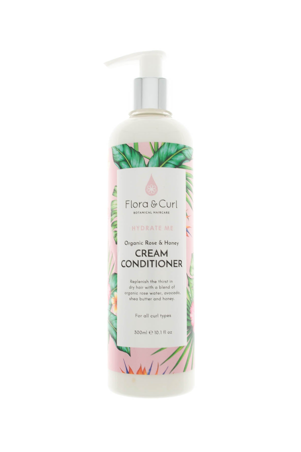 Curly hair conditioner with rinse - Flora and Curl