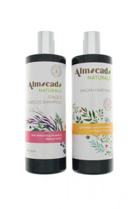 Set products for curly hair - Almocado