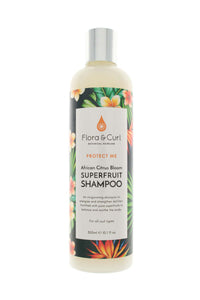 African Citrus Curly Hair Shampoo - Flora & Locken