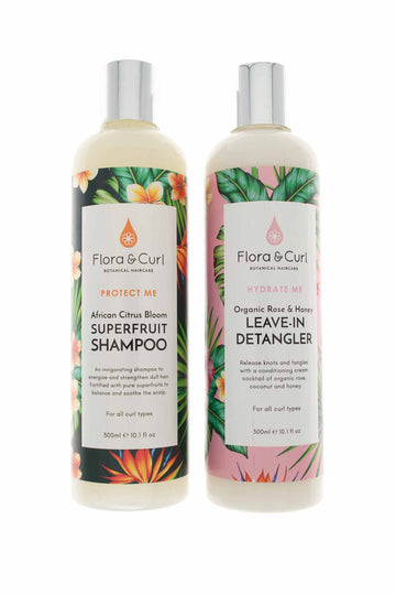 Curly Hair Products (SET) - Flora & Curl