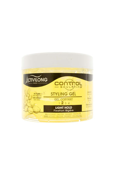 Styling gel for curly hair control sculpting - Activilong