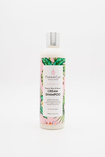 Curly and wavy hair shampoo with honey - Cream Shampoo from Flora & Curl