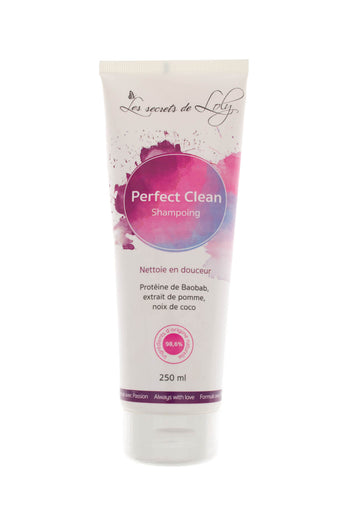 Sulfate-free chalk shampoo - Perfect Clean from Les Secrets de Loly