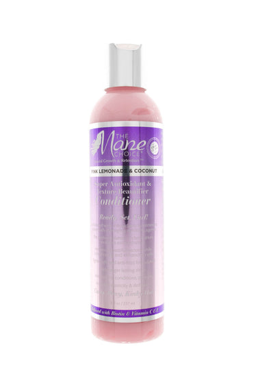 Pink Lemonade curly hair conditioner, ideal for all hair types - The Mane Choice