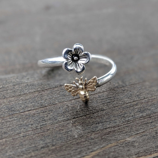 • BEE MINE • adjustable ring