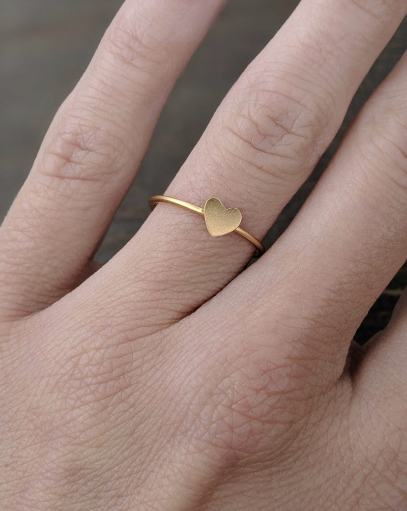 • ♥ • Gold Ring