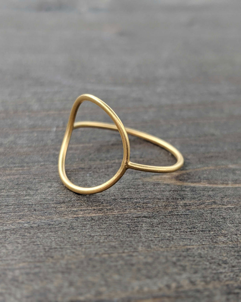 • PERFECT CIRCLE • Gold Ring