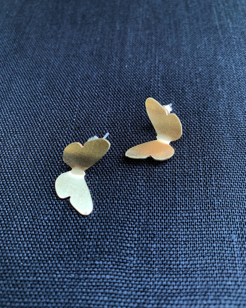 • FLUTTERING BUTTERFLIES • stud earrings
