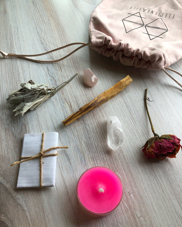 • LOVE + HONOR • mini ritual kit