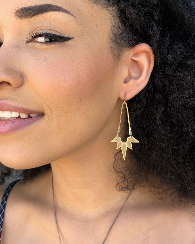 • SOL SUNBEAM • dangle earrings