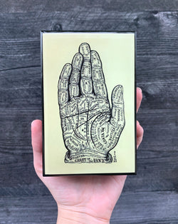 • CHART OF THE HAND • matchbox