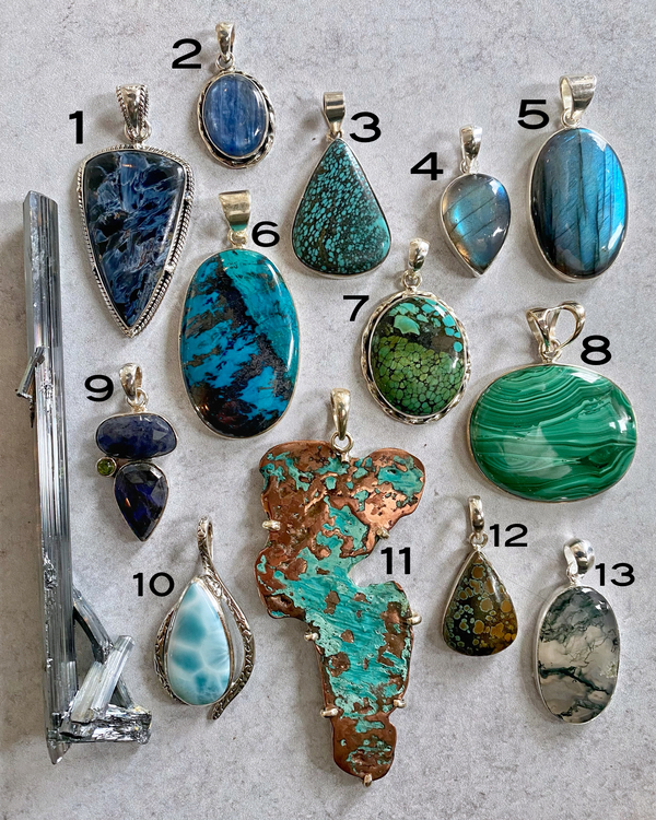• WATER • pendants