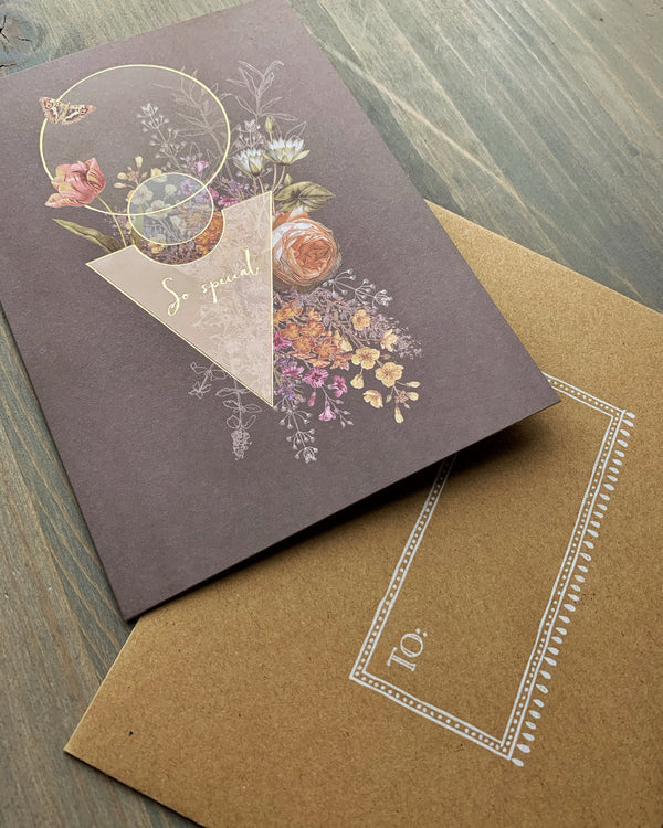 • SO SPECIAL • luxe note card