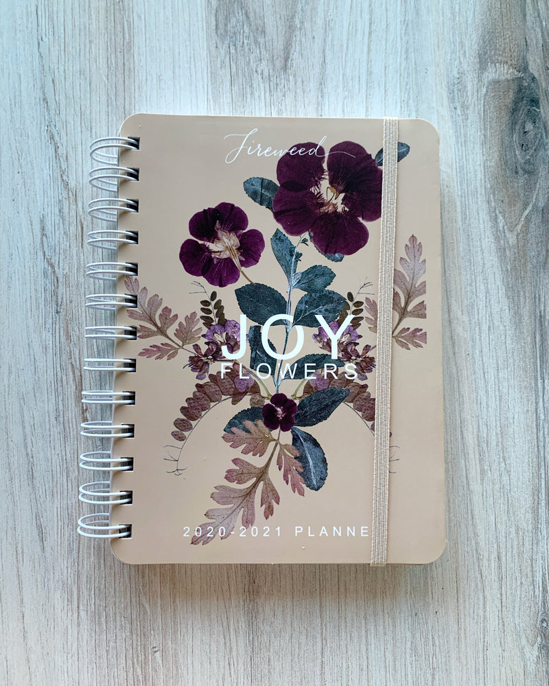 • JOY of FLOWERS • 2021 planner