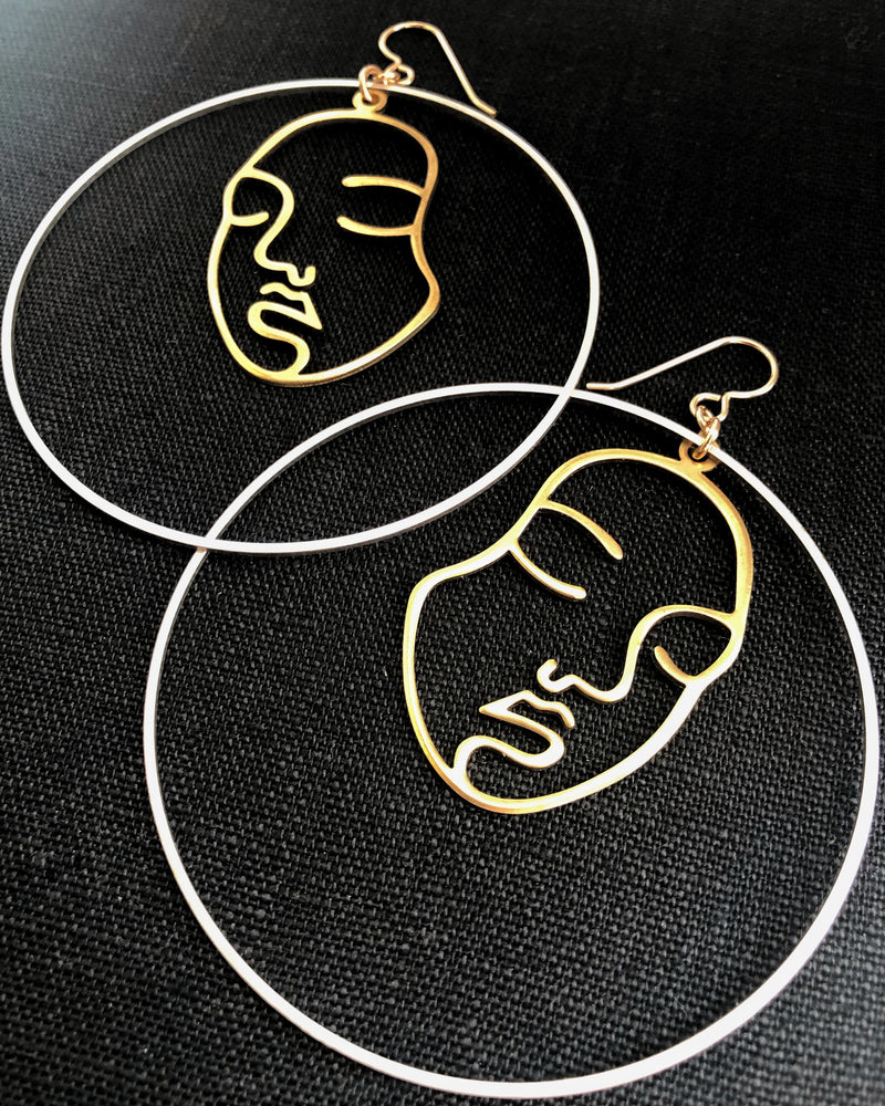 • MATISSE • hoop earrings