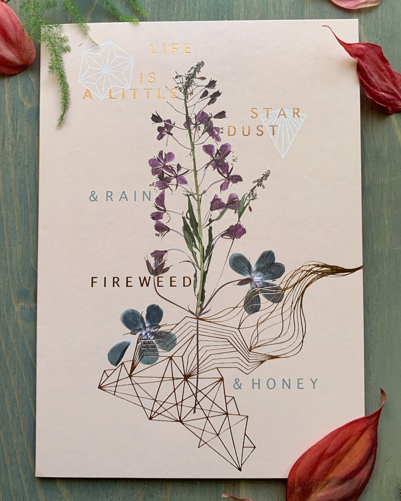 • FIREWEED & HONEY • luxe note card