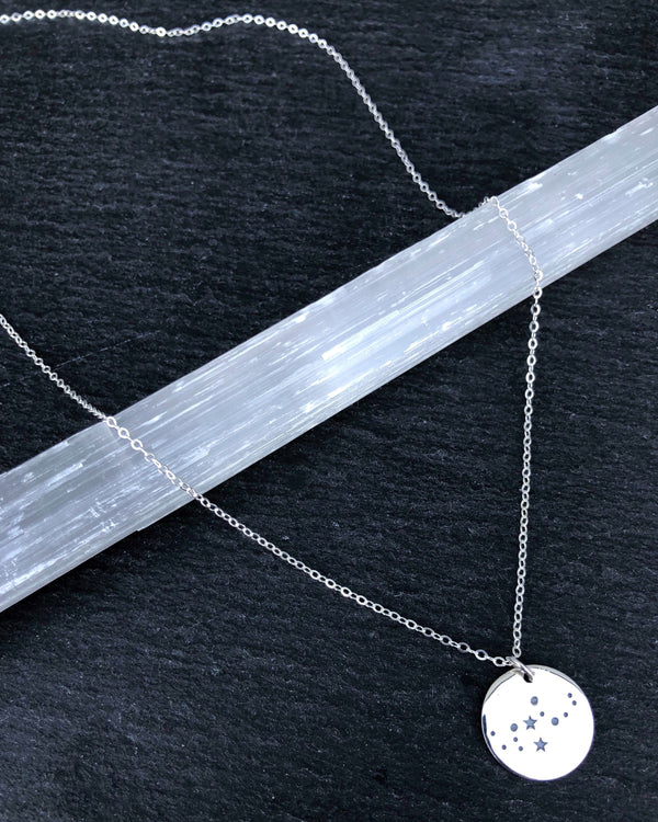 • VIRGO • silver necklace