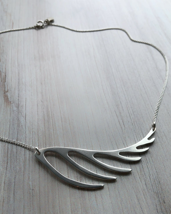 • FERN • silver necklace
