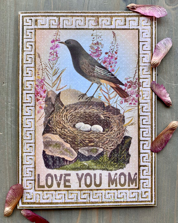 • LOVE YOU MOM • luxe note card