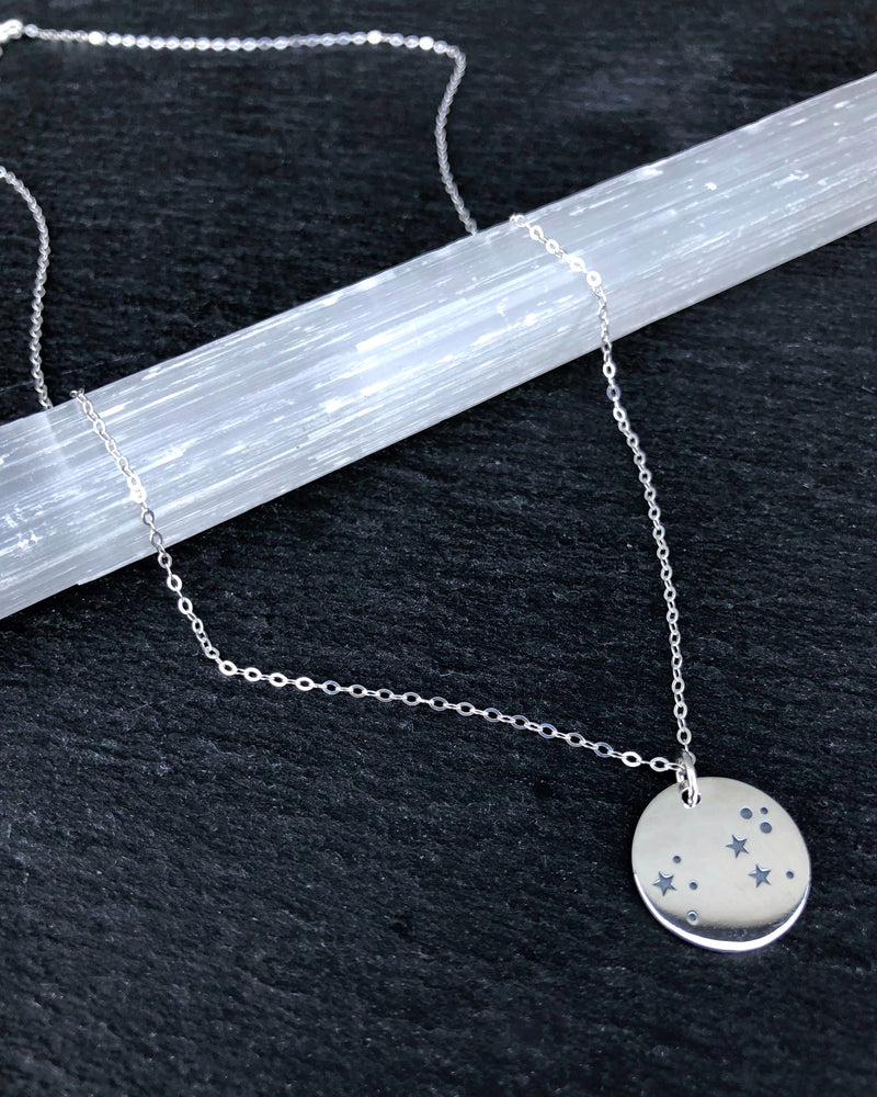 • LEO • silver necklace