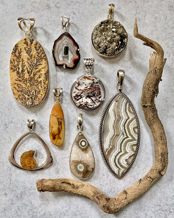 • EARTH • pendants