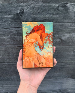 • MUCHA ART PRINT • matchbox